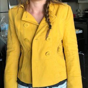 Ann Taylor loft yellow jacket